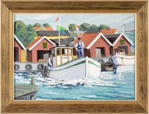 Skeppare På Fartyget Signe by Bert Håge HÄVERÖ