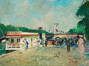 Bateaux Mouches Paris by Francois GALL