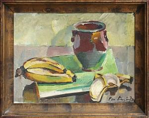 Stilleben Med Bananer by Pär SIEGÅRD