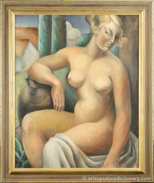 Naken Kvinna by Dana BILDE
