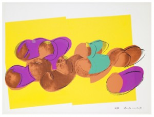 Peaches From Space Fruit: Still Life by Andy WARHOL