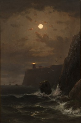 Point Bonita Lighthouse by Frederick Ferdinand SCHAFER