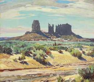 Monument Valley by Carl Oscar BORG