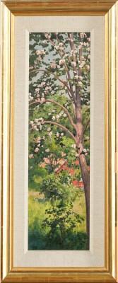 Blommande Träd by Johan KROUTHÉN