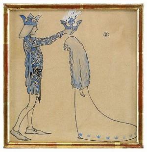 Prins Och Prinsessa by John BAUER