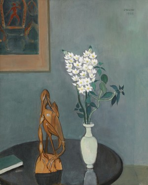 Stilleben Med Blommor by Einar JOLIN