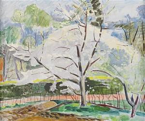 Det Blommande Fruktträdet by Isaac GRÜNEWALD