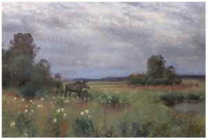 älgko Med Kalvar by Lindorm LILJEFORS