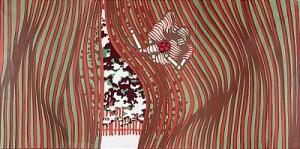 Besöket (triptyk) by Lennart RODHE