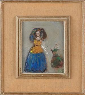 Kvinna Med Huvudbonad by Bernt RINGQVIST