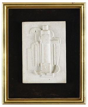 Maskinell Konstruktion - Väggskulptur by Esaias THORÉN