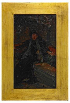 Kvinna I Interiör by Elisabeth WARLING
