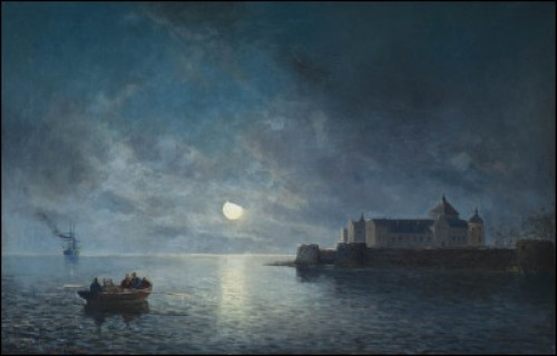 Månsken över Fästningen by Christian Fredrik SWENSSON
