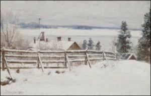 Vinterlandskap by Elin 'E Dson' DANIELSON-GAMBOGI