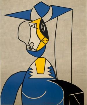 Femme Au Chapeau (woman With Hat) by Roy LICHTENSTEIN