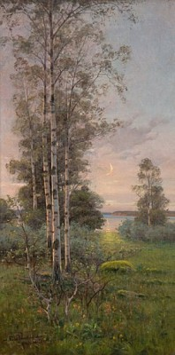 Summernight On åland, Ytternäs by Edvard WESTMAN