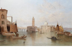 A View Of Venice by Alfred POLLENTINE