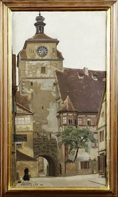 Rothenburg by Emil ÖSTERMAN
