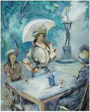 (2) Fransk Caféterrass by Eric DETTHOW