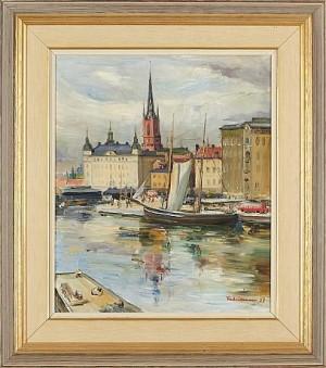 Munkbrokajen by Carl Einar 'Figge' FREDRIKSSON