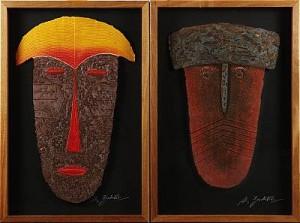 2 St. Mask by Alain BERK-VITZ