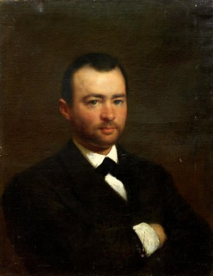 Portrait Of A Young Man by Konstantin Egorovich MAKOVSKY