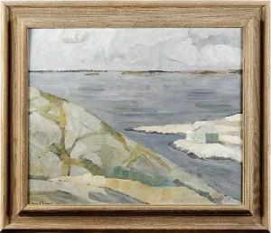 Utsikt över Marstrandsfjärden Ii by Birgit FORSSELL