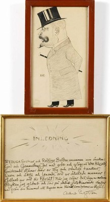 Karikatyr Resp Inledning by Albert ENGSTRÖM