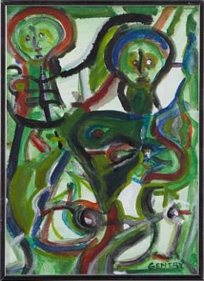 Les Deux by Herbert GENTRY