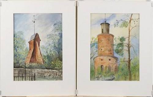 Klockstapel, Dalarö, Resp Kasell by Rudolf CARLBORG