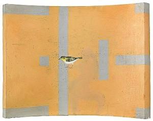 Finsk Konst Med Fågel by Ernst BILLGREN