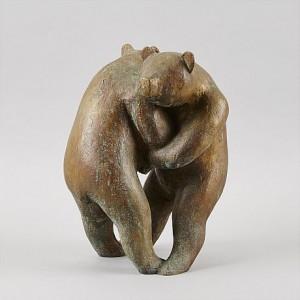 Två Björnar by Eric ELFWÉN