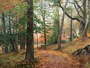 The Södertuna Park by Wilhelm BEHM