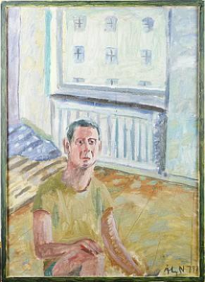 Porträtt by Åke NORLANDER