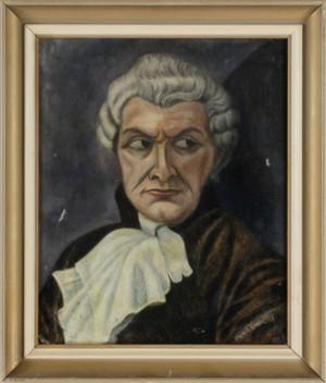 Portrait De Mautreus André De L'opera - Dans Un Rôle De La Tosca by Marie Ivanovna VASSILIEFF