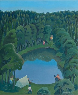 Skogstjärnen by Pirkko LEPISTÖ