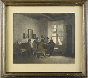 The Rainy Day by Peter Vilhelm ILSTED