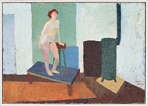 Modellstudie by John Gunnar 'Haavs-Johnson' JOHNSON
