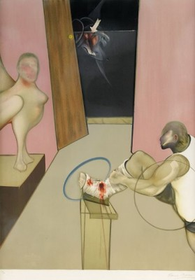 Oedipus And The Sphinx by Francis BACON