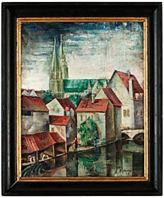 Katedralen I Chartres by Erik JÖNSSON