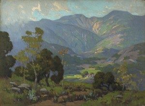 Home In The Valley by Elmer WACHTEL