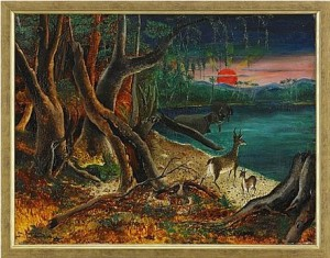 Tropiskt Landskap by Otte 'Otte S.' SKÖLD