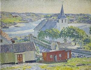 Kyrkan - Fiskebäckskil by Carl WILHELMSON
