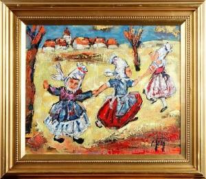 Holländska Dansare by Henri D'ANTY