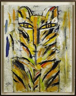 Tiger by Madelaine 'M Pyk' PYK