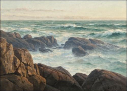 Tidig Morgon På Havet by Berndt LINDHOLM