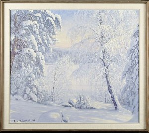 Rimfrost Skog by Eric RHÖNNSTAD