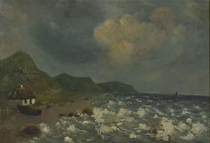 Motiv Fån Sydvestra Kusten by Carl Fredrik HILL
