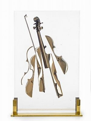 Accumulation De Violon by Fernandez ARMAN