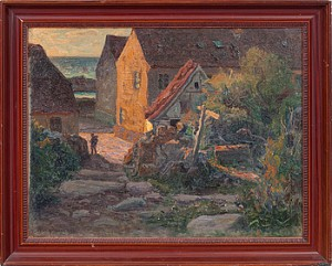 Gatumotiv- Kristiansö by Oskar HULLGREN